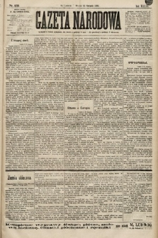 Gazeta Narodowa. 1899, nr232