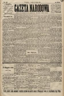 Gazeta Narodowa. 1899, nr237