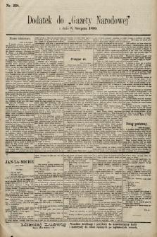 Gazeta Narodowa. 1899, nr238