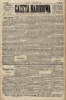 Gazeta Narodowa. 1899, nr240