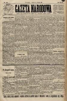 Gazeta Narodowa. 1899, nr241