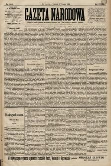 Gazeta Narodowa. 1899, nr244