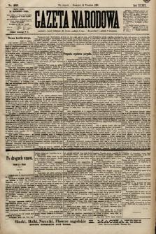 Gazeta Narodowa. 1899, nr255