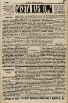 Gazeta Narodowa. 1899, nr256