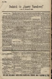 Gazeta Narodowa. 1899, nr259