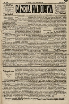 Gazeta Narodowa. 1899, nr260