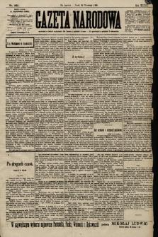 Gazeta Narodowa. 1899, nr261