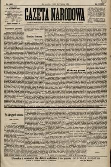 Gazeta Narodowa. 1899, nr263