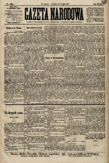 Gazeta Narodowa. 1899, nr265