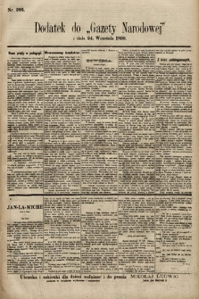 Gazeta Narodowa. 1899, nr266