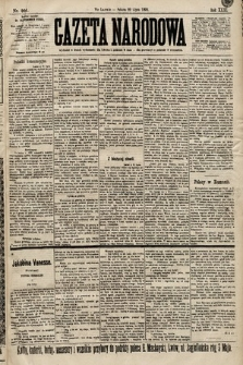 Gazeta Narodowa. 1899, nr201