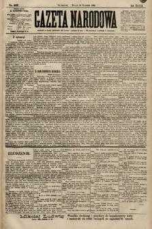 Gazeta Narodowa. 1899, nr267