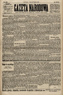 Gazeta Narodowa. 1899, nr270