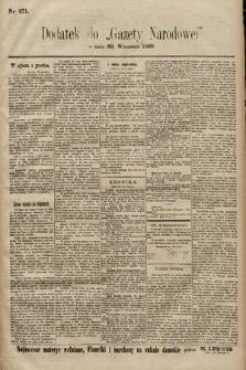 Gazeta Narodowa. 1899, nr271