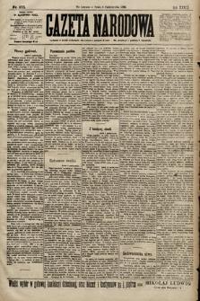 Gazeta Narodowa. 1899, nr275