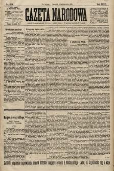 Gazeta Narodowa. 1899, nr276