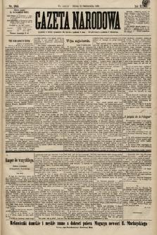Gazeta Narodowa. 1899, nr285