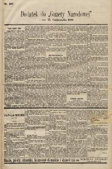 Gazeta Narodowa. 1899, nr287