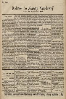 Gazeta Narodowa. 1899, nr301