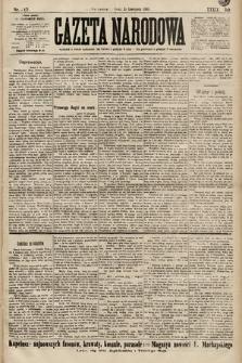 Gazeta Narodowa. 1899, nr317