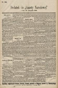 Gazeta Narodowa. 1899, nr322
