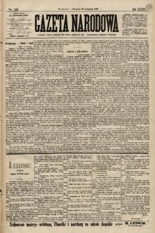 Gazeta Narodowa. 1899, nr325
