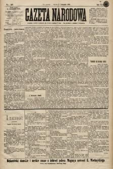 Gazeta Narodowa. 1899, nr327