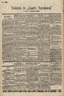 Gazeta Narodowa. 1899, nr336
