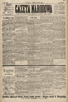 Gazeta Narodowa. 1899, nr342