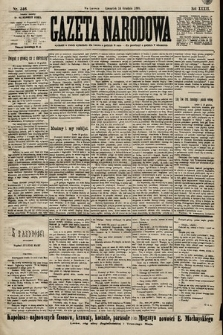 Gazeta Narodowa. 1899, nr346