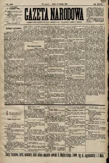 Gazeta Narodowa. 1899, nr347