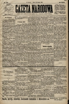 Gazeta Narodowa. 1899, nr348