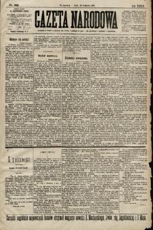 Gazeta Narodowa. 1899, nr352
