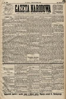Gazeta Narodowa. 1899, nr355