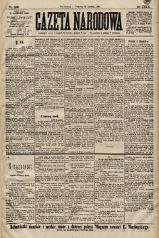 Gazeta Narodowa. 1899, nr356