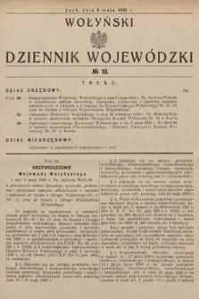 Wołyński Dziennik Wojewódzki. 1930, nr10