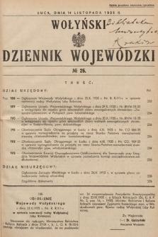 Wołyński Dziennik Wojewódzki. 1935, nr26