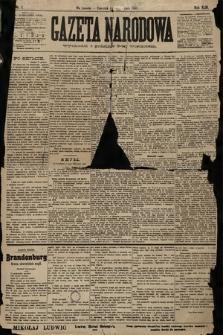 Gazeta Narodowa. 1903, nr1