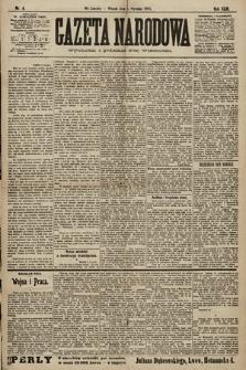 Gazeta Narodowa. 1903, nr4