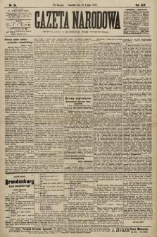 Gazeta Narodowa. 1903, nr34