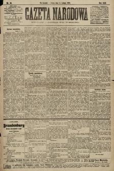 Gazeta Narodowa. 1903, nr36