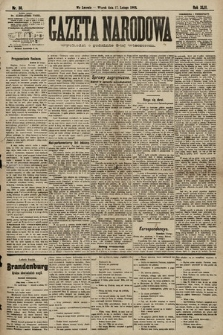 Gazeta Narodowa. 1903, nr38