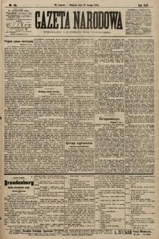 Gazeta Narodowa. 1903, nr43