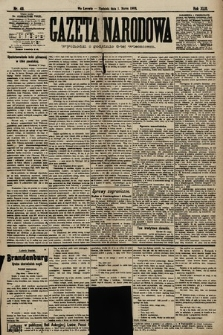 Gazeta Narodowa. 1903, nr49