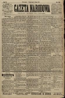 Gazeta Narodowa. 1903, nr73