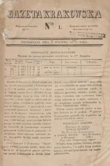 Gazeta Krakowska. 1831, nr1
