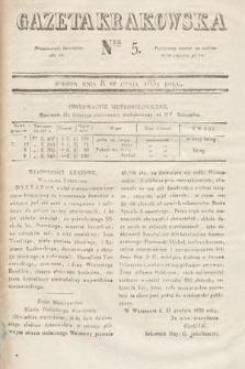 Gazeta Krakowska. 1831, nr5