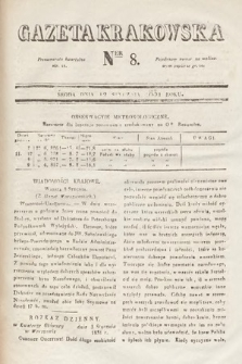 Gazeta Krakowska. 1831, nr8