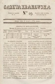 Gazeta Krakowska. 1831, nr49
