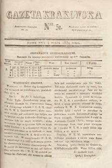 Gazeta Krakowska. 1831, nr51